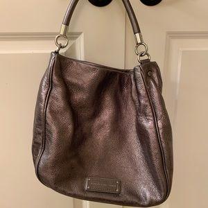 Marc by Marc Jacobs metallic bronze shoulder bag